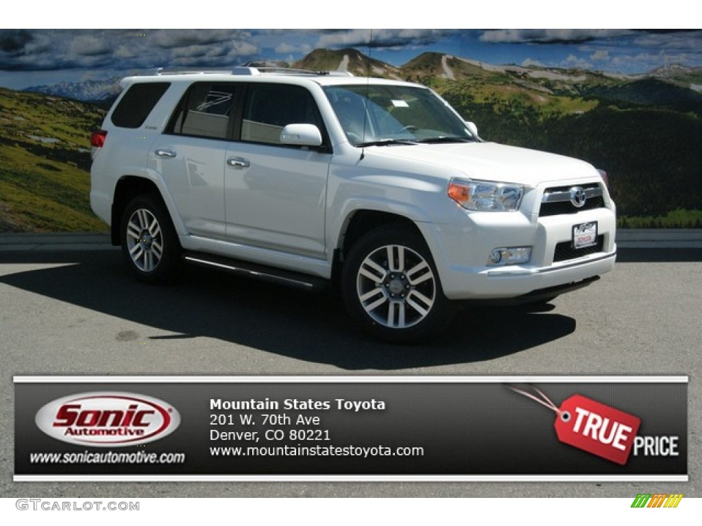 2013 blizzard white pearl toyota 4runner limited 4x4 85465965 car color galleries. Black Bedroom Furniture Sets. Home Design Ideas