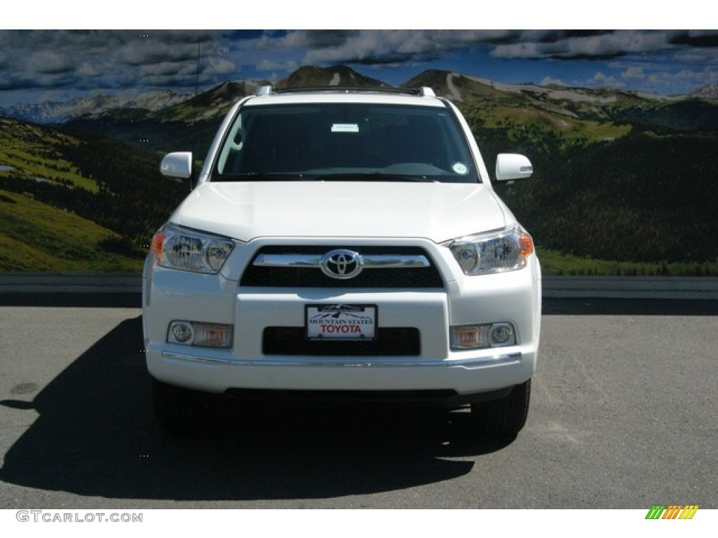 2013 blizzard white pearl toyota 4runner limited 4x4 85465965 photo 2 car. Black Bedroom Furniture Sets. Home Design Ideas