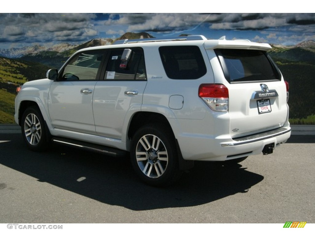 2013 blizzard white pearl toyota 4runner limited 4x4 85465965 photo 3 car. Black Bedroom Furniture Sets. Home Design Ideas