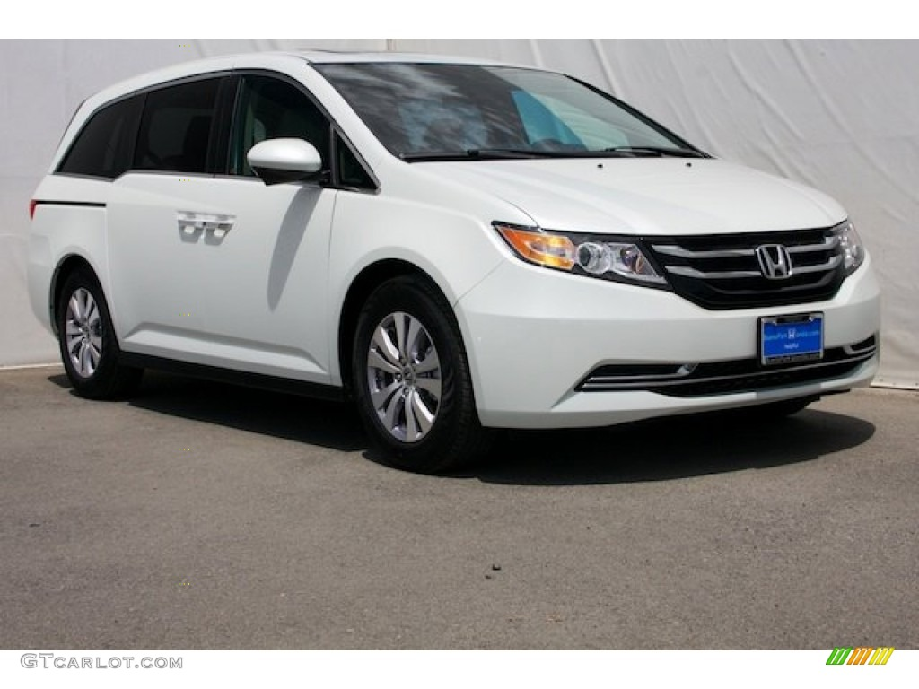 2014 white diamond pearl honda odyssey ex l 85466145 car color galleries. Black Bedroom Furniture Sets. Home Design Ideas