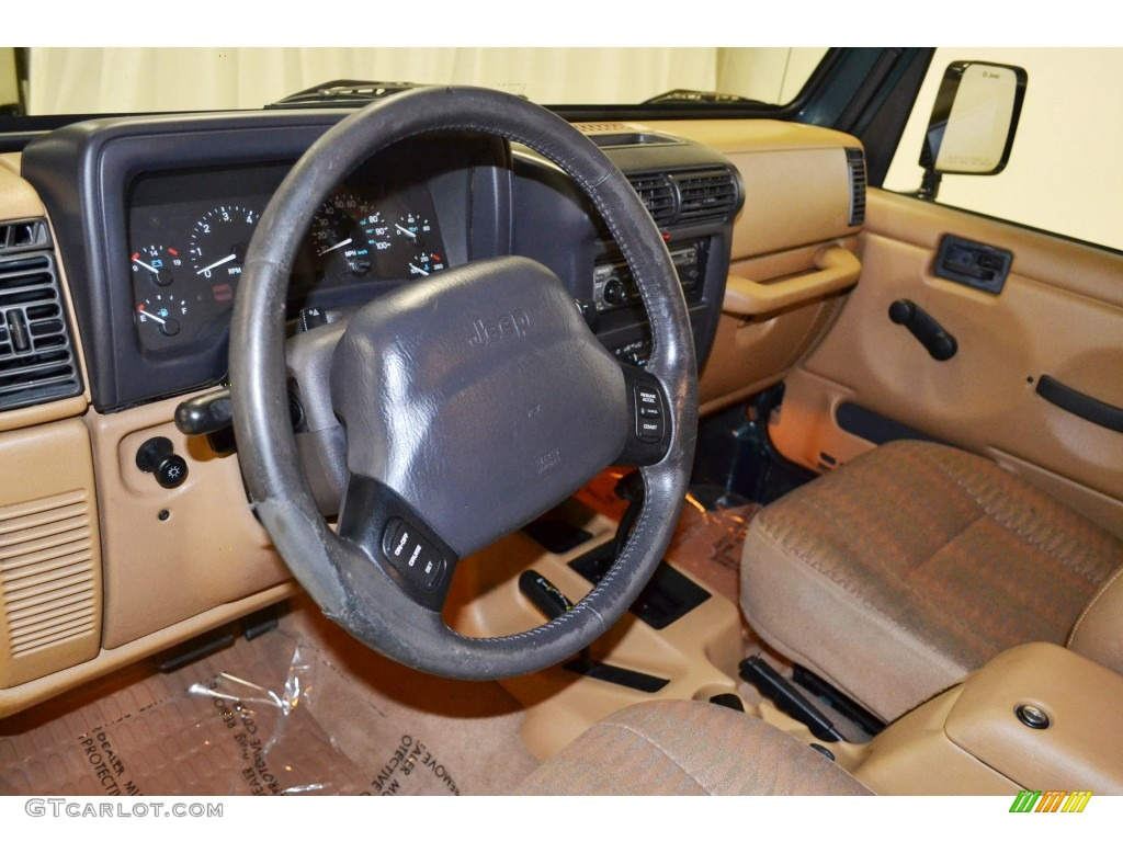 1998 jeep wrangler sport 4x4 interior photos