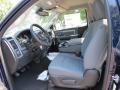Black/Diesel Gray Front Seat Photo for 2014 Ram 1500 #85489985