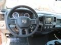 Black/Diesel Gray Dashboard Photo for 2014 Ram 1500 #85490717