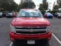 2009 Victory Red Chevrolet Silverado 1500 LTZ Extended Cab 4x4  photo #1