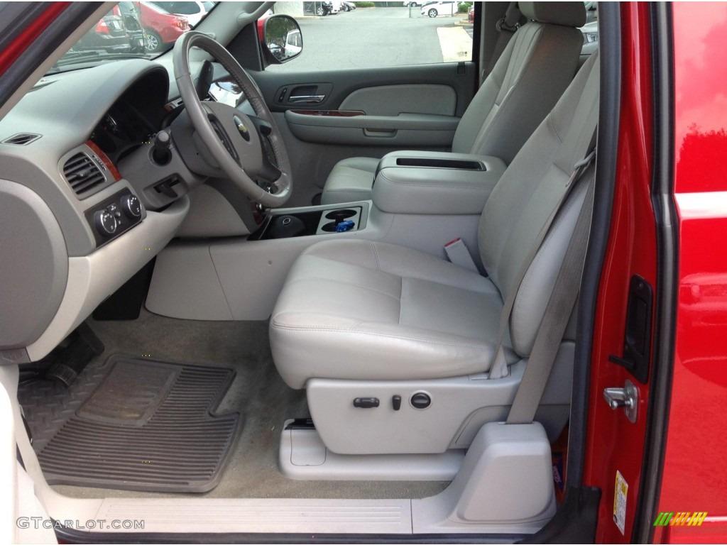 2009 Silverado 1500 LTZ Extended Cab 4x4 - Victory Red / Light Titanium photo #7