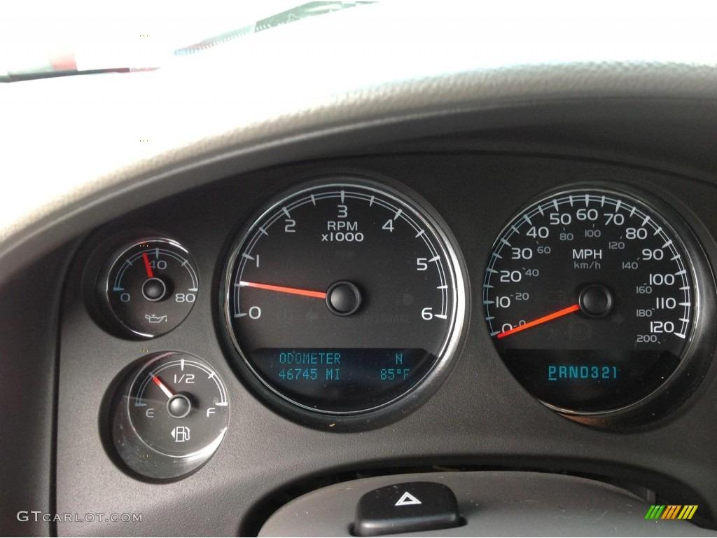 2009 Silverado 1500 LTZ Extended Cab 4x4 - Victory Red / Light Titanium photo #9
