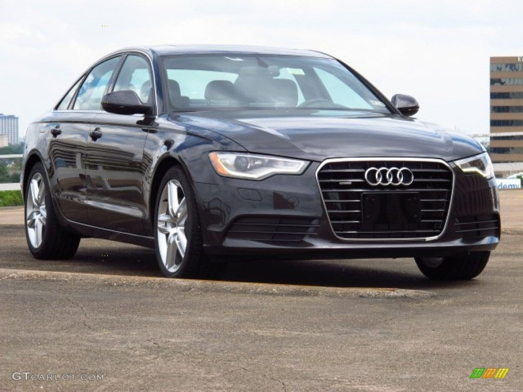 2014 oolong gray metallic audi a6 2 0t quattro sedan 85499536 car color galleries. Black Bedroom Furniture Sets. Home Design Ideas