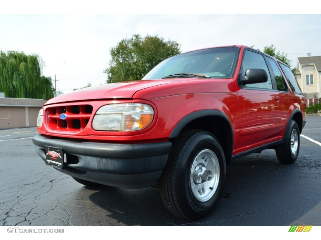 1997 bright red ford explorer sport 4x4 85498831 car color galleries. Black Bedroom Furniture Sets. Home Design Ideas