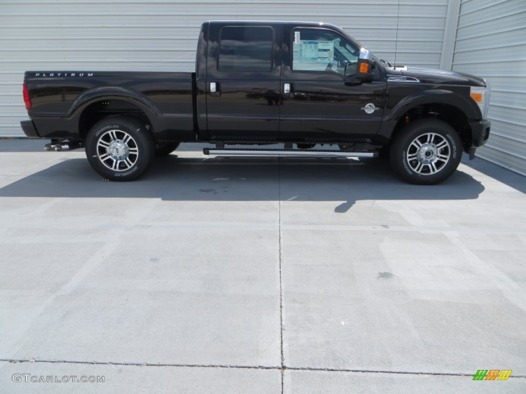 2014 Kodiak Brown Metallic Ford F250 Super Duty Platinum Crew Cab 4x4