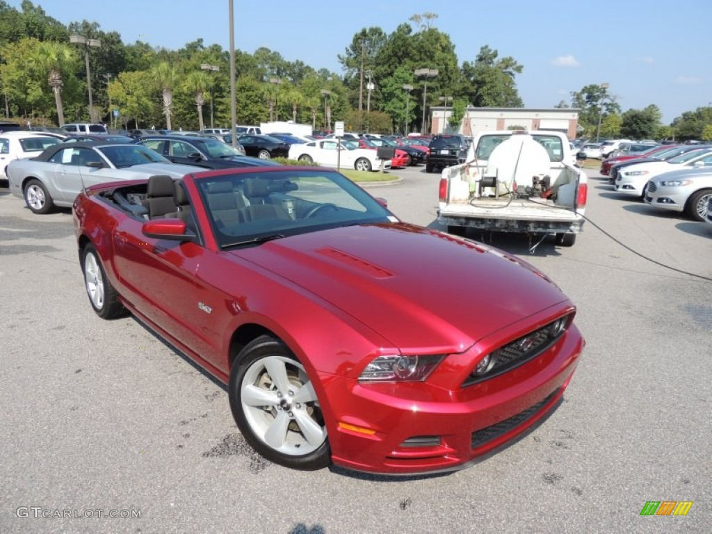 2014 ruby red ford mustang gt convertible 85499099. Black Bedroom Furniture Sets. Home Design Ideas