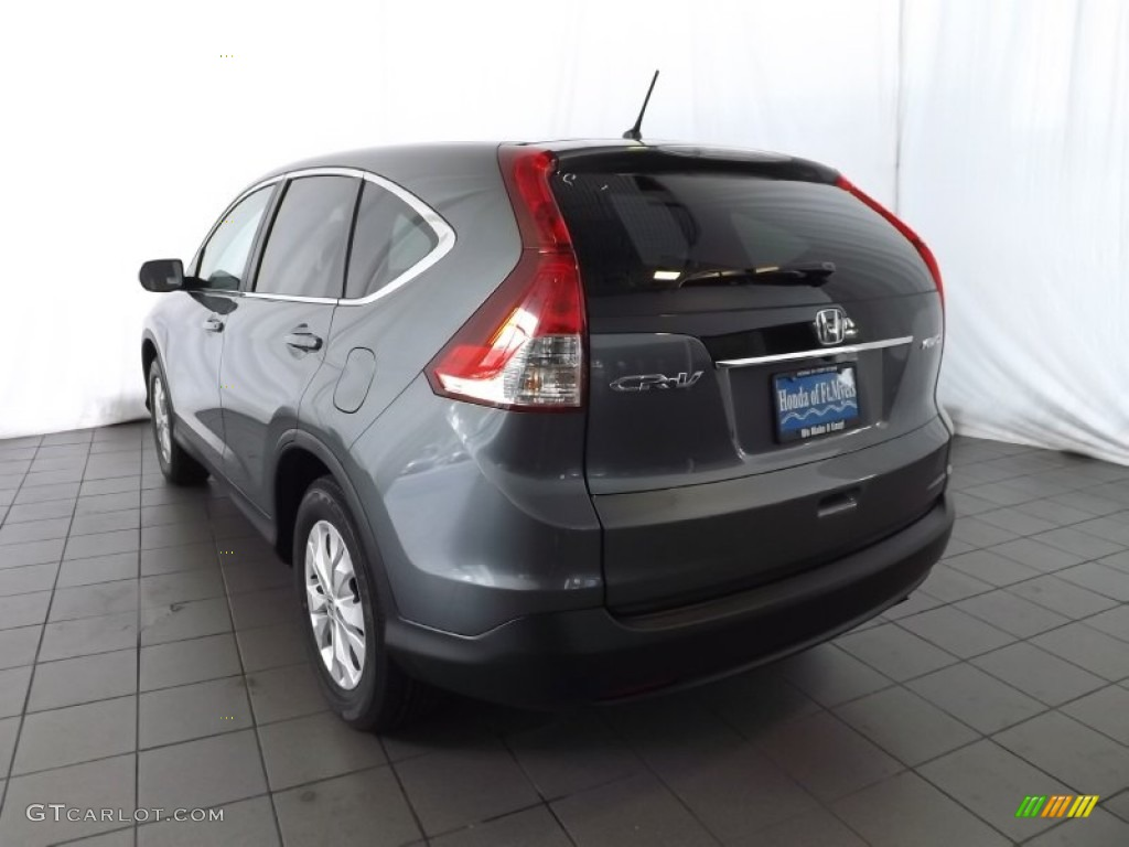 2014 CR-V EX AWD - Polished Metal Metallic / Gray photo #6