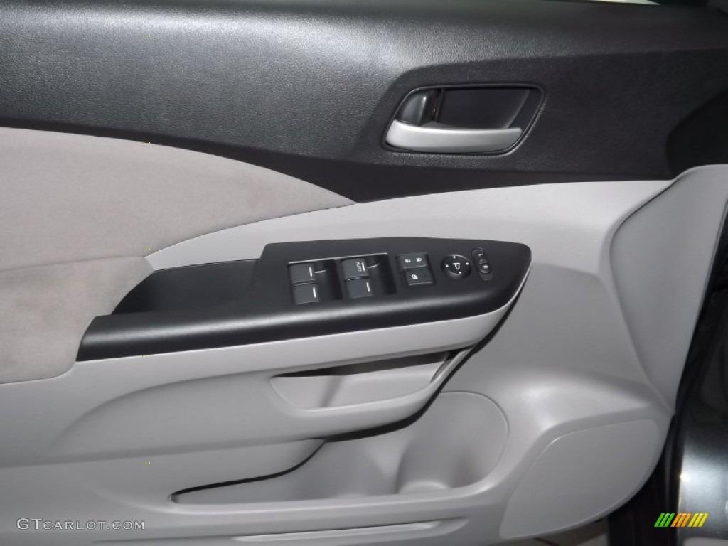 2014 CR-V EX AWD - Polished Metal Metallic / Gray photo #9
