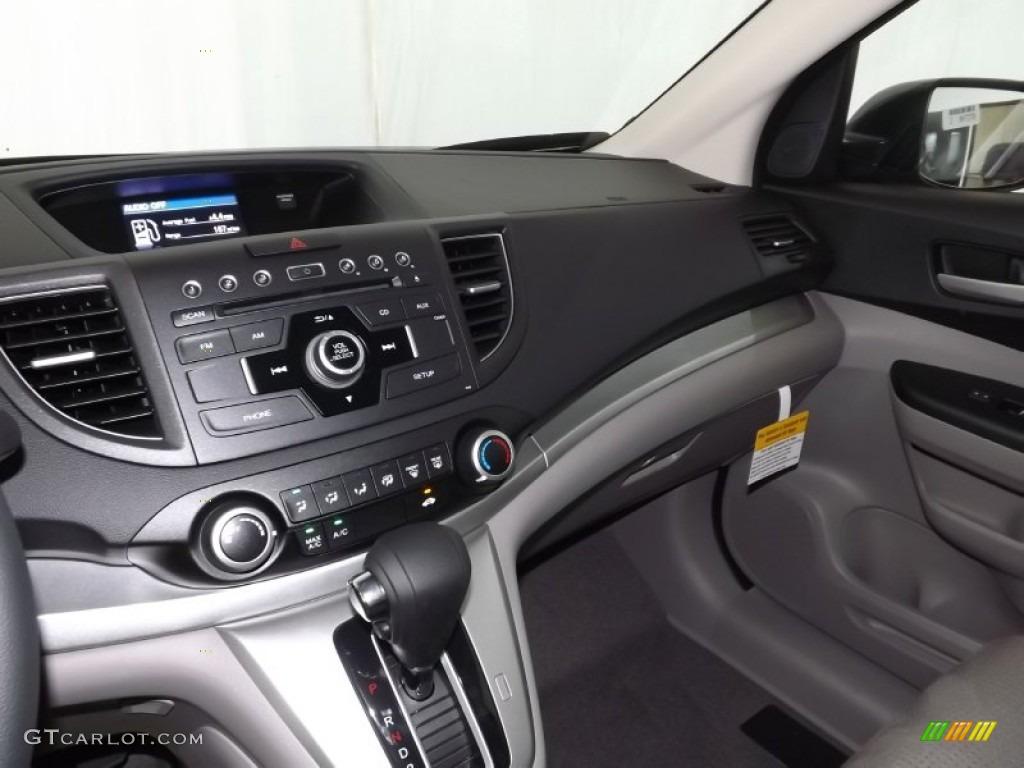 2014 CR-V EX AWD - Polished Metal Metallic / Gray photo #12