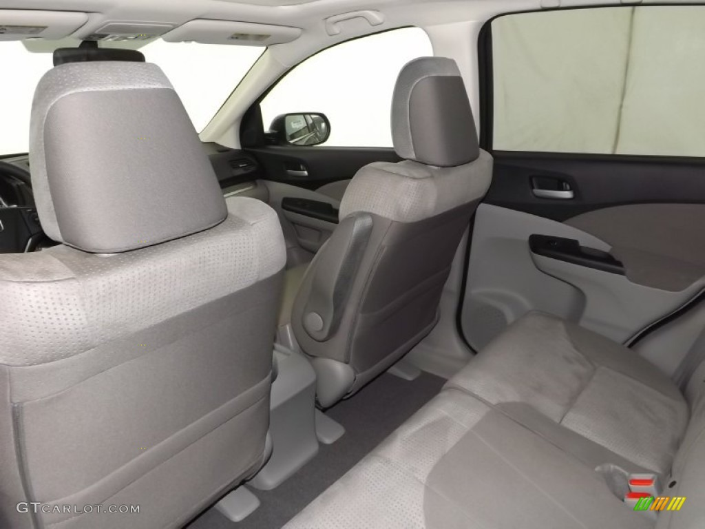 2014 CR-V EX AWD - Polished Metal Metallic / Gray photo #25