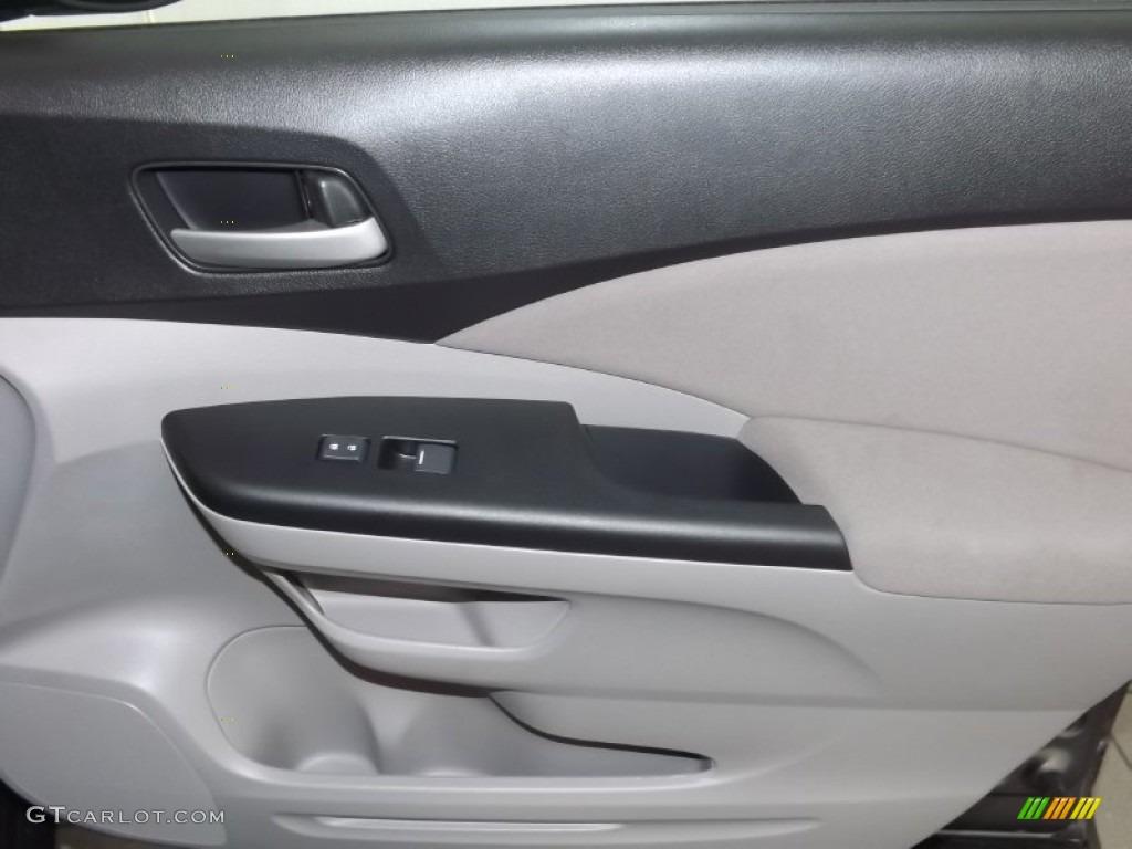 2014 CR-V EX AWD - Polished Metal Metallic / Gray photo #29
