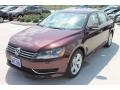 2014 Opera Red Metallic Volkswagen Passat 2.5L SE  photo #3