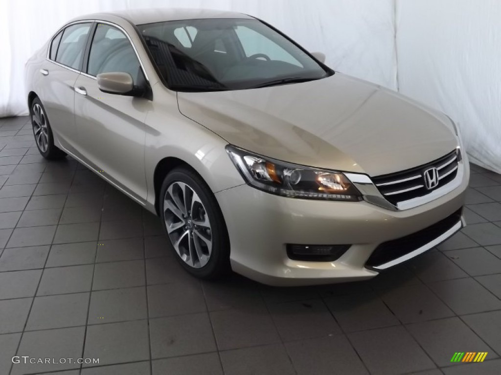 2014 champagne frost pearl honda accord sport sedan 85498425 car color galleries. Black Bedroom Furniture Sets. Home Design Ideas