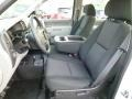 2011 Chevrolet Silverado 1500 Dark Titanium Interior Front Seat Photo