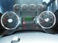 2008 Ford F250 Super Duty Black/Dusted Copper Interior Gauges Photo