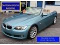 Atlantic Blue Metallic 2008 BMW 3 Series 328i Convertible