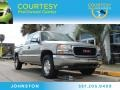 Pewter Metallic 2002 GMC Sierra 1500 SLE Extended Cab 4x4