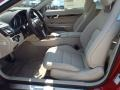 2014 E 550 Coupe Silk Beige/Espresso Brown Interior