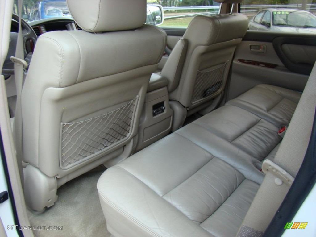 2003 Toyota Land Cruiser Standard Land Cruiser Model Interior Color Photos