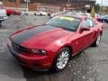 2011 Red Candy Metallic Ford Mustang V6 Premium Coupe  photo #4