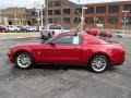 2011 Red Candy Metallic Ford Mustang V6 Premium Coupe  photo #5