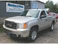 Silver Birch Metallic 2009 GMC Sierra 1500 SLE Regular Cab 4x4