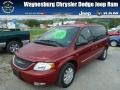 2004 Inferno Red Tinted Pearlcoat Chrysler Town & Country EX #85642619