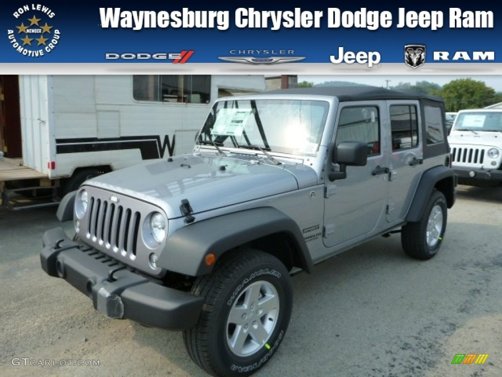 2014 jeep wrangler unlimited sport 4x4 billet silver metallic color. Cars Review. Best American Auto & Cars Review
