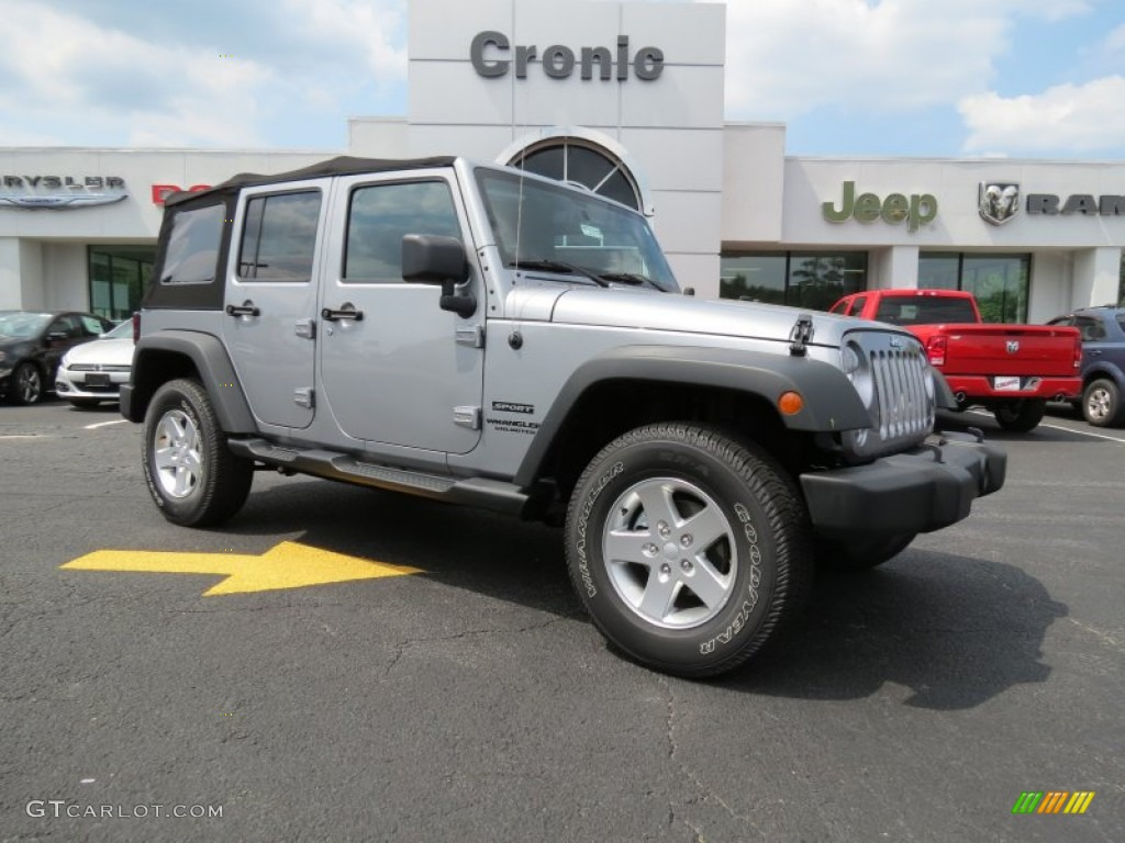 2014 jeep wrangler unlimited sport s 4x4 billet silver metallic color. Cars Review. Best American Auto & Cars Review