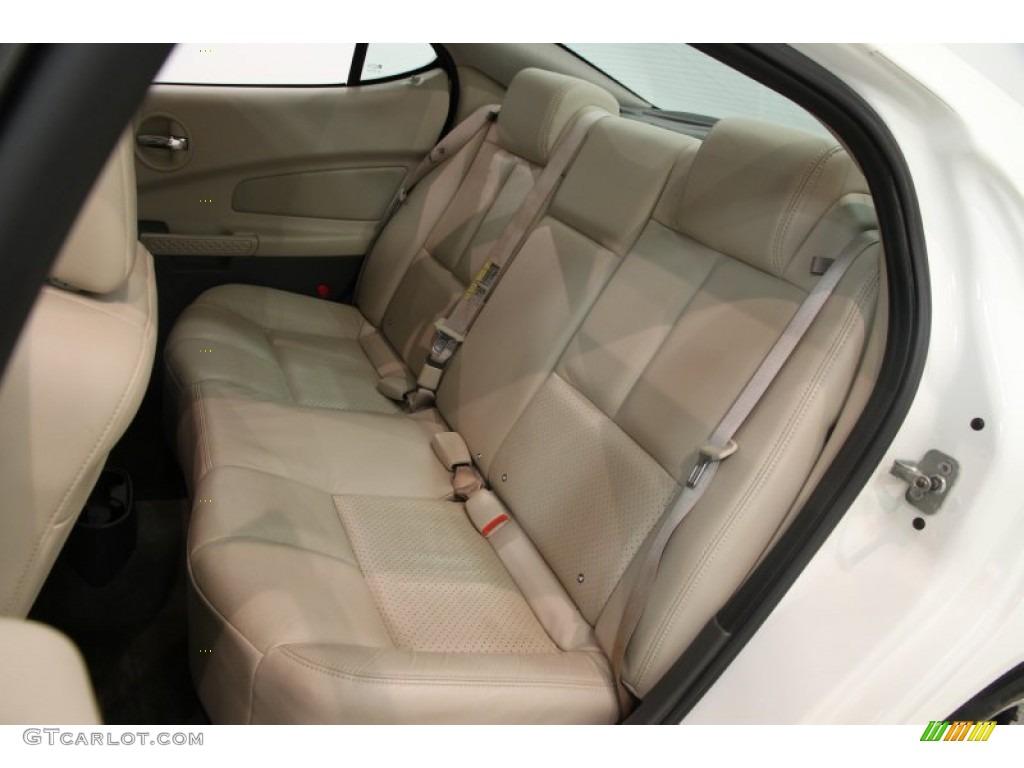 2005 Pontiac Grand Prix Gt Sedan Rear Seat Photo 85687622