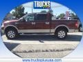 Mahogany Metallic 2007 Ford F150 King Ranch SuperCrew 4x4