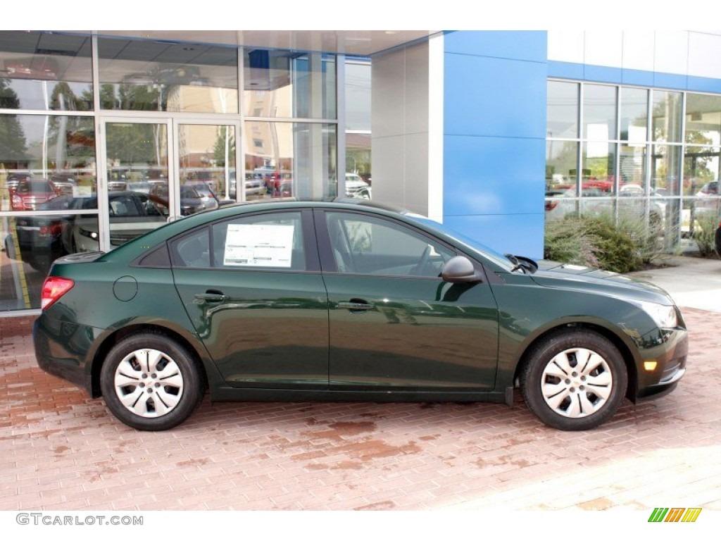 Rainforest Green Metallic 2014 Chevrolet Cruze Ls Exterior Photo 85693145
