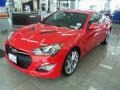 2013 Tsukuba Red Hyundai Genesis Coupe 3.8 Grand Touring  photo #1