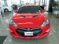 2013 Tsukuba Red Hyundai Genesis Coupe 3.8 Grand Touring  photo #2