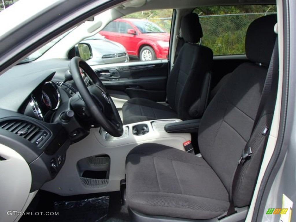 Black Light Graystone Interior 2014 Dodge Grand Caravan Sxt Photo 85704190