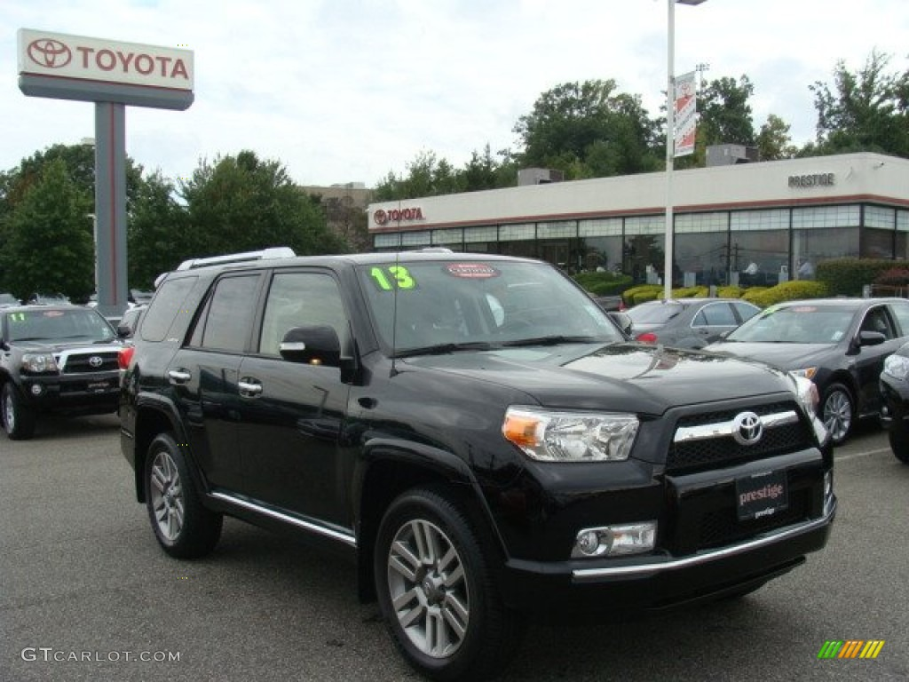 2013 black toyota 4runner limited 4x4 85698419 car color galleries. Black Bedroom Furniture Sets. Home Design Ideas