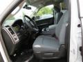 Black/Diesel Gray Front Seat Photo for 2014 Ram 1500 #85706170