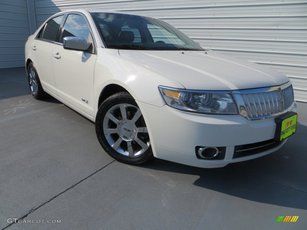 White Suede Lincoln MKZ