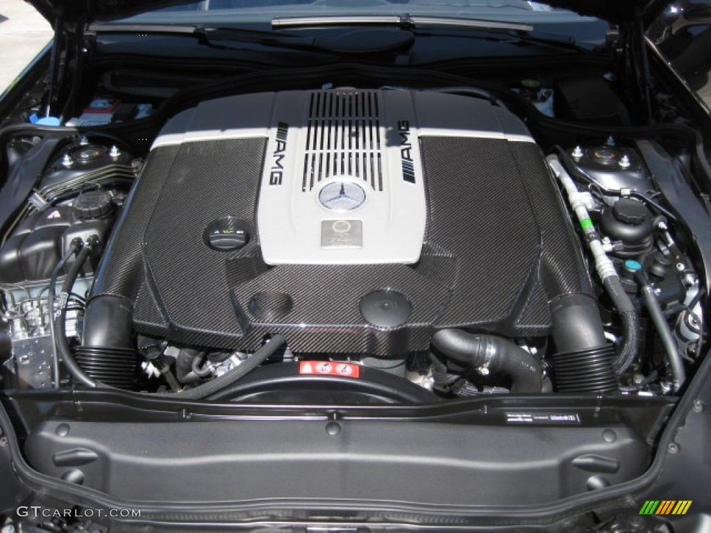 2011 mercedes benz sl 65 amg roadster 6 0 liter amg twin for Mercedes benz v 12 engine