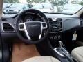 Black/Light Frost Beige Dashboard Photo for 2014 Chrysler 200 #85725013