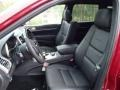Morocco Black Front Seat Photo for 2014 Jeep Grand Cherokee #85726138
