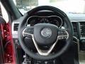Morocco Black Steering Wheel Photo for 2014 Jeep Grand Cherokee #85726305