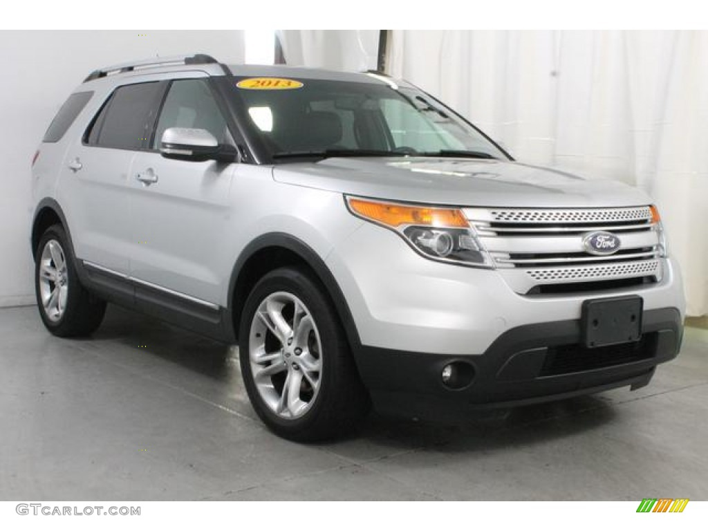 Ingot Silver Metallic 2013 Ford Explorer Limited 4WD Exterior Photo #85743907