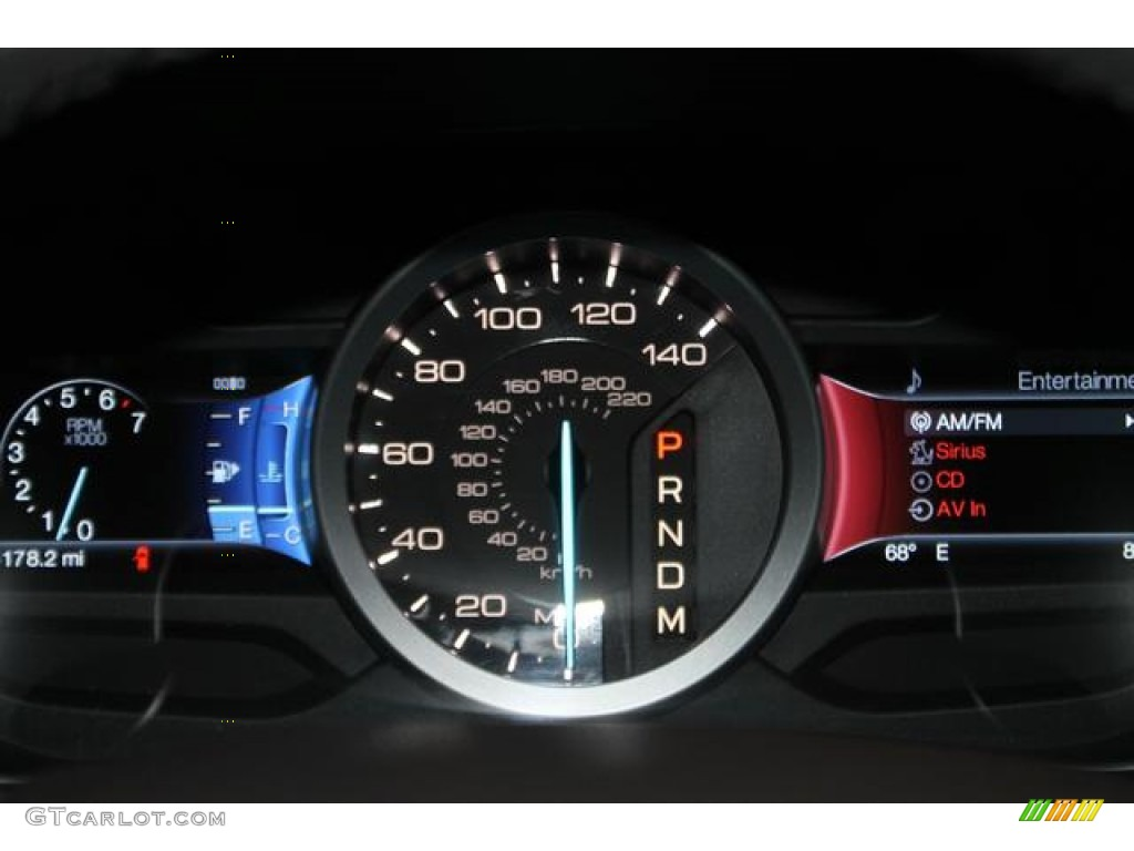 2013 Ford Explorer Limited 4WD Gauges Photo #85743946