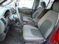 2013 Nissan Xterra Gray Interior Front Seat Photo