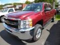 Deep Ruby Metallic 2014 Chevrolet Silverado 2500HD Gallery